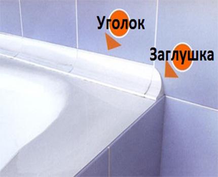 Заделка швов между ванной и стенами видео