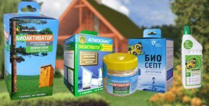 Bioactivators for septic tanks