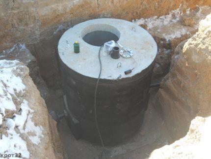 Гидроизоляция выгребной ямы