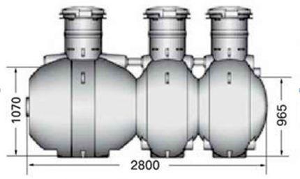 Модификации септиков Упонор Сако