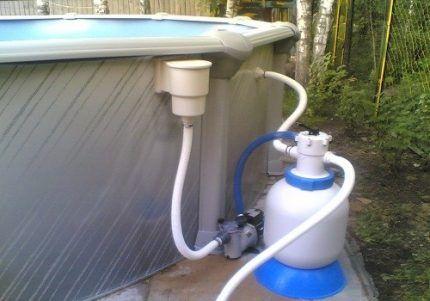 Зачем воду в бассейне очищают с помощью фильтра