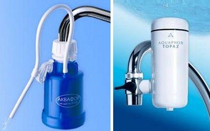 Позиции во главе рейтинга фильтров очистки воды