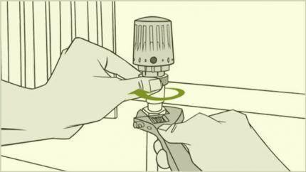 Монтаж терморегулятора отопления
