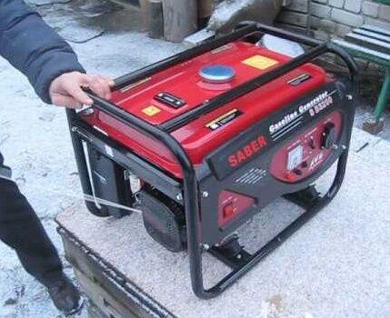Генератор для питания электротепловентилятора