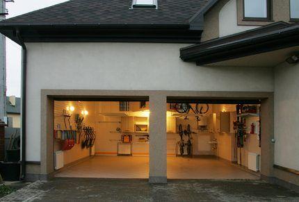 Теплый гараж с обогревом