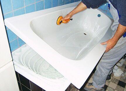 Альтернатива покраске ванны
