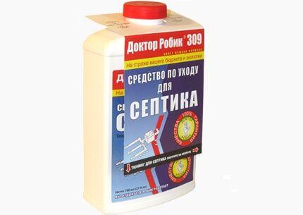 Средство с бактериями для септиков roebic 309