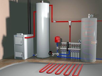 Вода как теплоноситель для автономных систем отопления