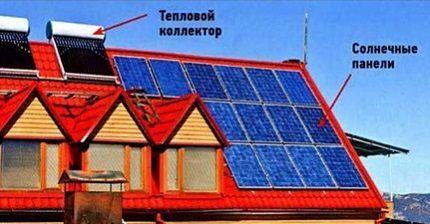 Гребенки на солнечной энергии