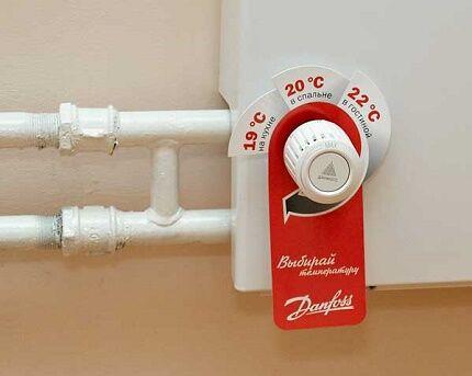 Как используются регуляторы температуры для батарей отопления