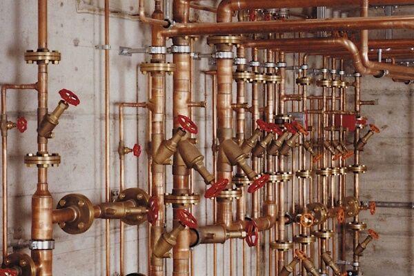 Трубы водопроводные для горячей или холодной воды систем