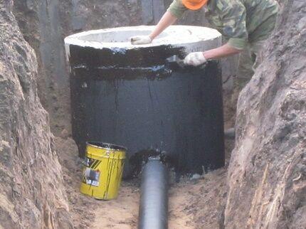 Дополнительные работы при установке бетонного септика