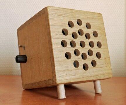 Нагреватель в деревянном корпусе