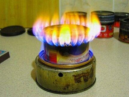 Газовый прибор с горелкой