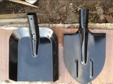 Лопаты для земляных работ