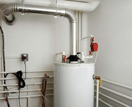 Газовый водонагреватель с открытой камерой сгорания