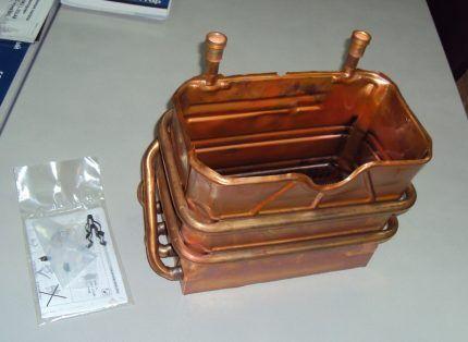 Как выглядит теплообменник газовую колонку Кожухотрубный теплообменник Alfa Laval Cetecoil 1450-H Рыбинск