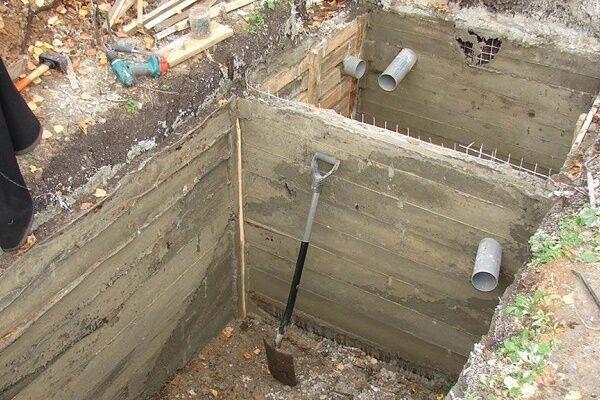 Септики из бетона своими руками 85