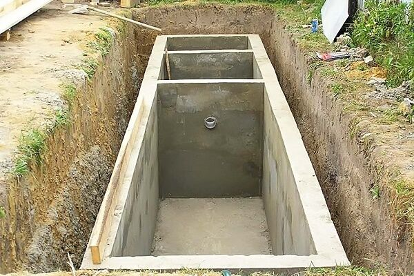 Септики из бетона своими руками 82