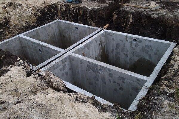 Септики из бетона своими руками 8