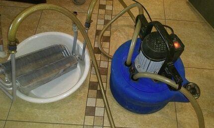 Промывка системы отопления бустером