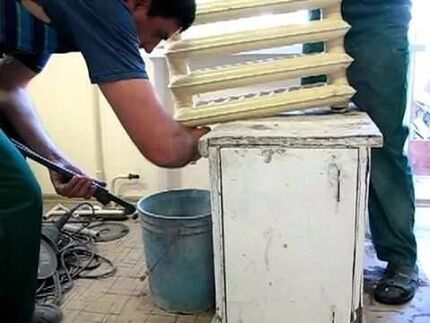 Как провести механическую прочистку и промывку системы отопления