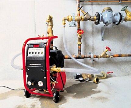 Гидродинамический метод промывки системы отопления