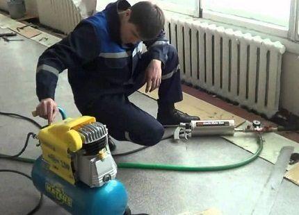 Профессиональная прочистка системы отопления