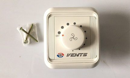 Простая модель регулятора вентилятора