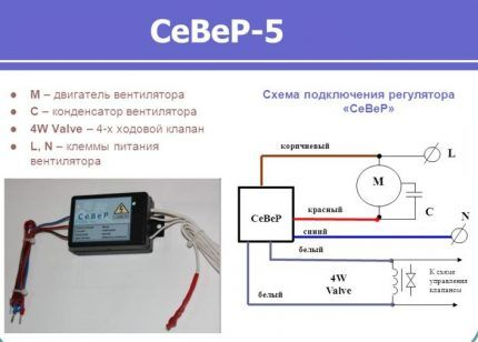 Инструкция по использованию регулятора скорости вентилятора