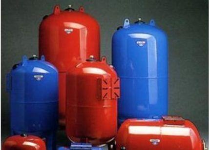 Гидроаккумуляторы для холодной и горячей воды