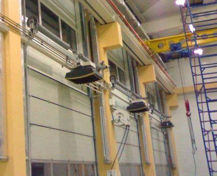 Комплект водяных тепловентиляторов