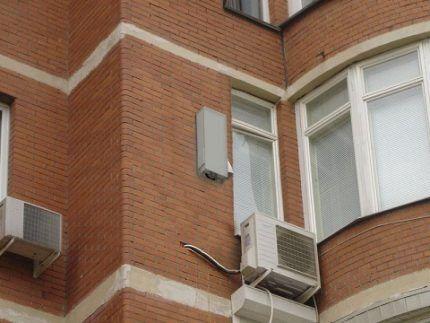 Блок приточной вентиляции