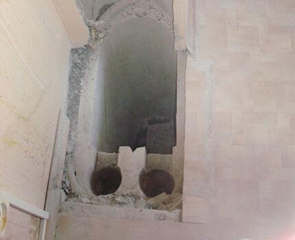 Внутреннее строение вентиляционного блока