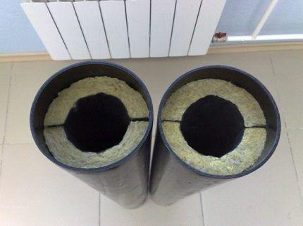 Теплоизоляция воздуховода