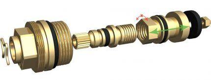Конструкция резьбовой буксы
