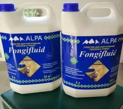 Fongifluid Alpa - средство против грибка