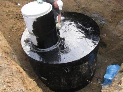 Гидроизоляция бетонного сооружения