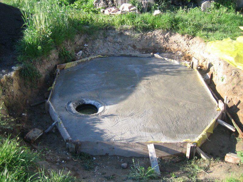 Как правильно сделать не выгребную яму