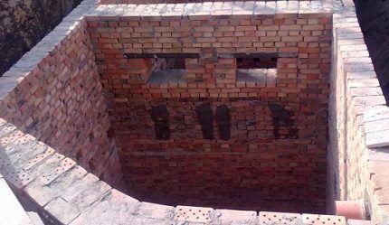 Сливная яма произвольной конфигурации
