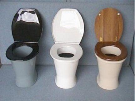 Классические уличные туалеты