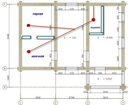 Option plan with strip line
