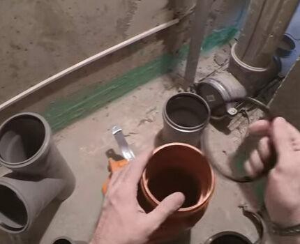 Пластиковые трубы легко разрезать
