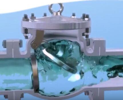 Рабочий механизм обратного клапана