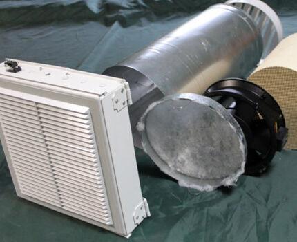 Комплектующие для устройства вентиляции