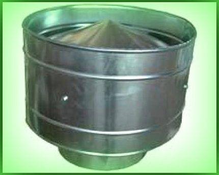 Защитить дымоход от ветра дымоход дымок или феррум