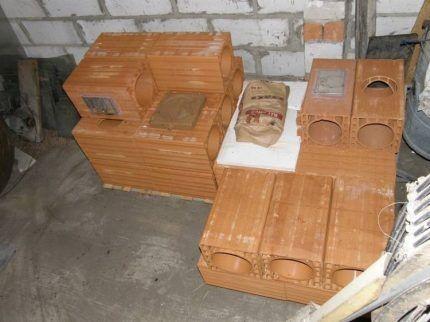 Ceramic Chimney Elements
