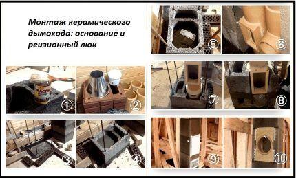 Ceramic Chimney Installation Procedure