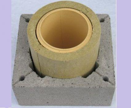 Ceramic chimney device