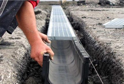 Норма расчета уклона лотков канализации